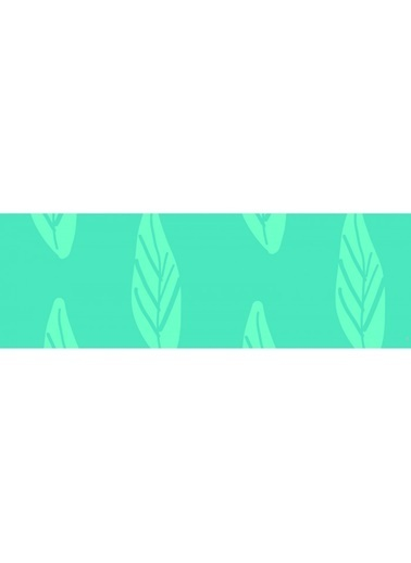 Artikel Çizgisel Yapraklar -2 Temalı Runner Masa Örtüsü 43,5x141,5cm Renkli